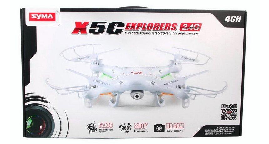 Ecco come vi arriverà a casa il vostro nuovo SYMA X5C Explorers