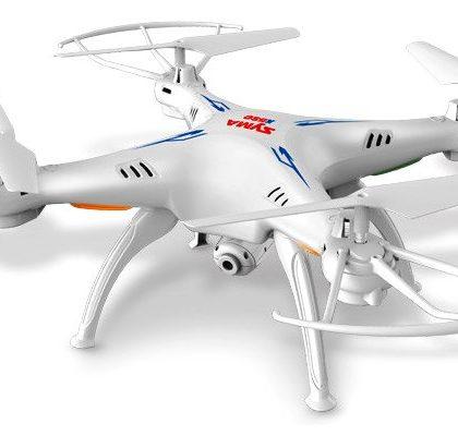Quadricottero SYMA X5SW FPV con telecamera Wi-Fi, versione bianca