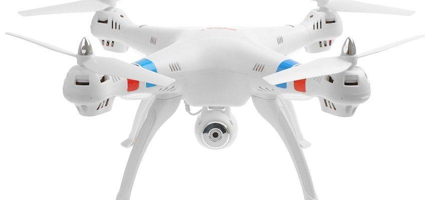 Quadricottero SYMA X8C Venture con videocamera HD, versione bianca