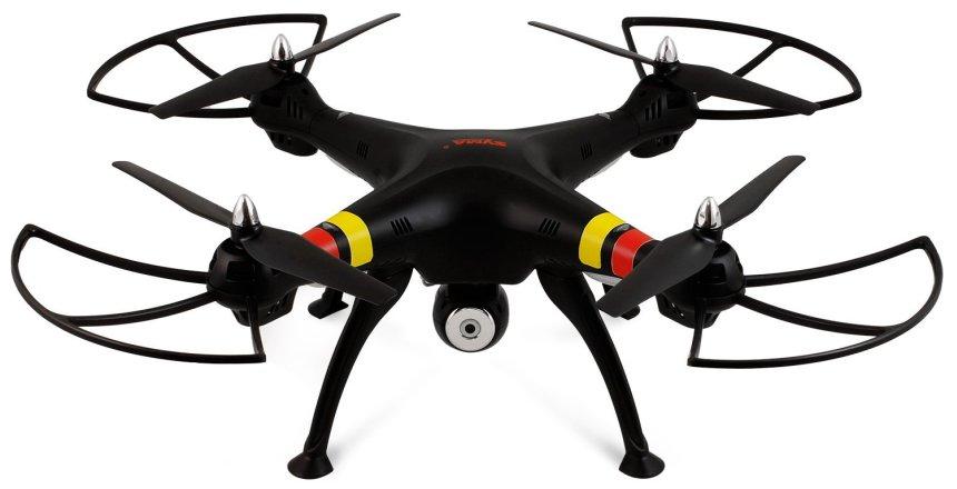 Quadricottero SYMA X8C Venture con videocamera HD, versione nera