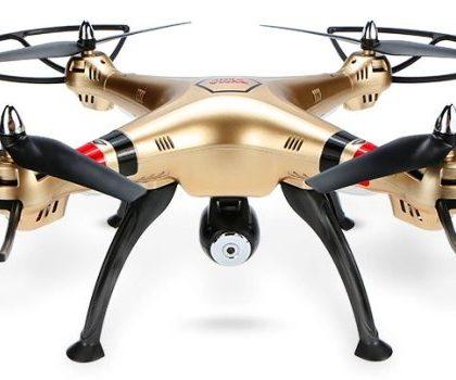 Drone SYMA X8HC con videocamera HD 2MP e barometro