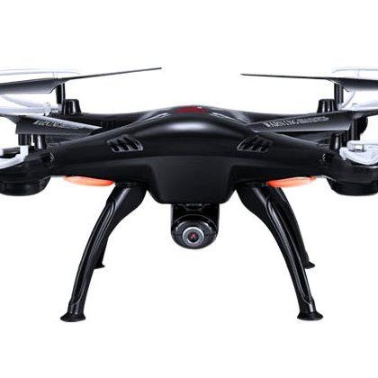 Quadricottero SYMA X5SW FPV con telecamera Wi-Fi, versione nera