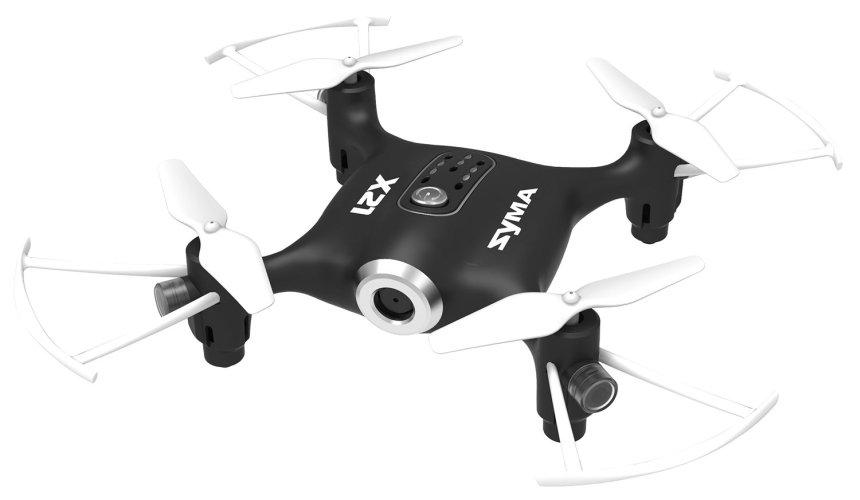 Mini Drone SYMA X21 con modalità senza testa (Headless), versione nera