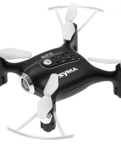 Mini Drone SYMA X20 Pocket con modalità di salvataggio, versione nera