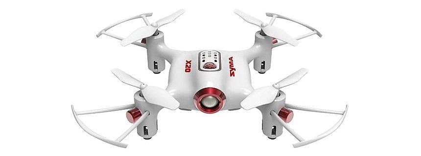 Mini Drone SYMA X20 Pocket con modalità di salvataggio, versione bianca