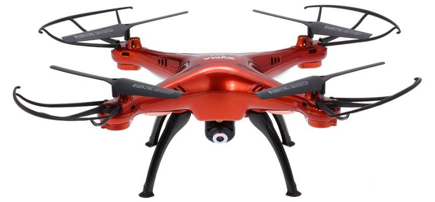 Quadricottero SYMA X5SC Explorers 2, versione arancione cromata