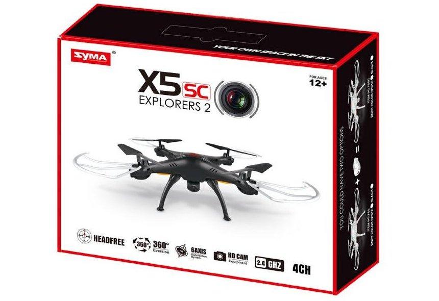 Ecco come vi arriverà a casa il vostro nuovo quadricottero Syma X5SC Explorers 2