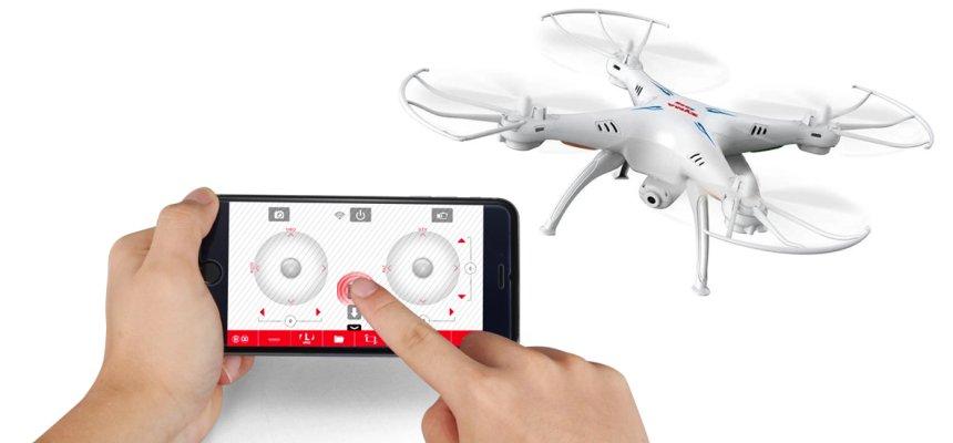 Con l'App SYMA GO potete pilotare il vostro drone SYMA X5SW direttamente dal vostro smartphone