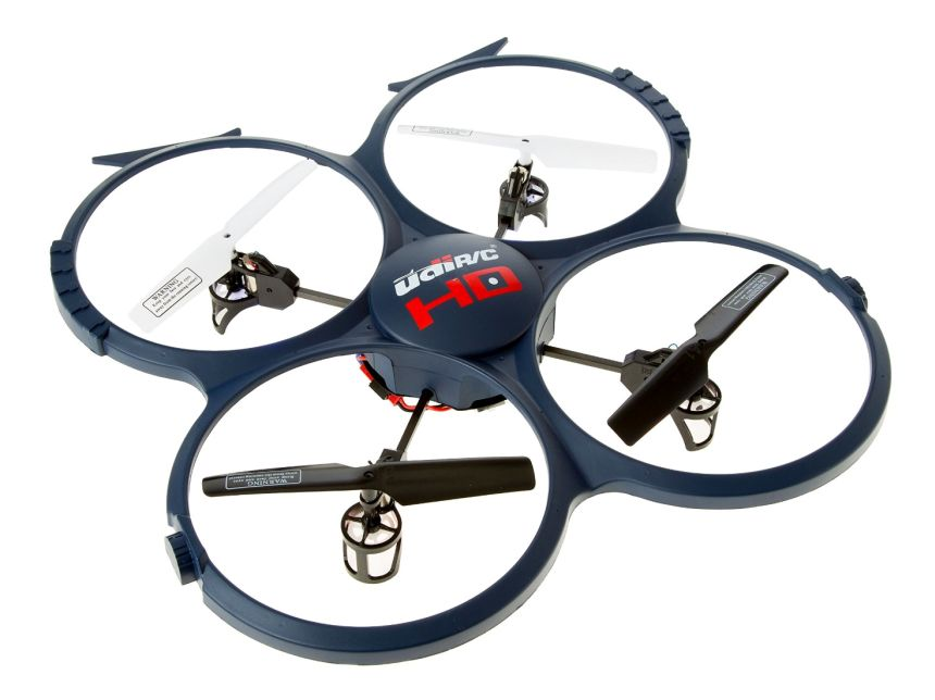 Quadricottero UDI RC U818A-1 Discovery con videocamera 720p HD
