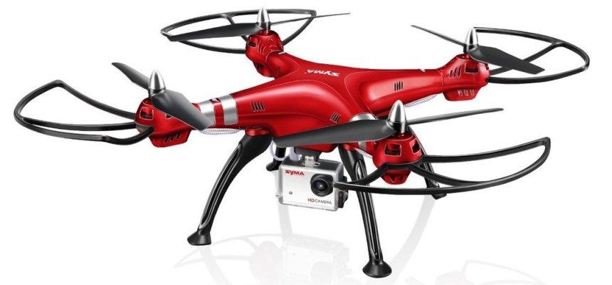 Droni Syma da outdoor con videocamera HD