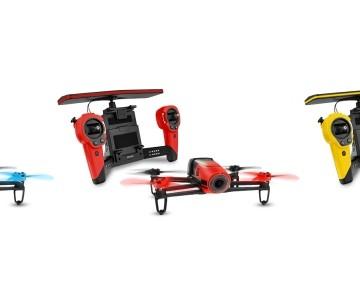 Quadricottero Parrot Bebop con SkyController e telecamera Full HD, scegli il tuo colore