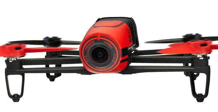 Dettaglio della fotocamera da 14MP con obiettivo Fisheye 180° 1/2,2