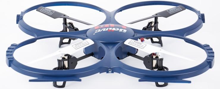 Il quadricottero UDI RC U818A-1 Discovery con videocamera HD 720p