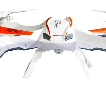 Quadricottero UDI RC U842 Falcon con videocamera 720p HD, versione bianca